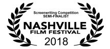 Screenwriting Semi Finalist NaFF Laurels white
