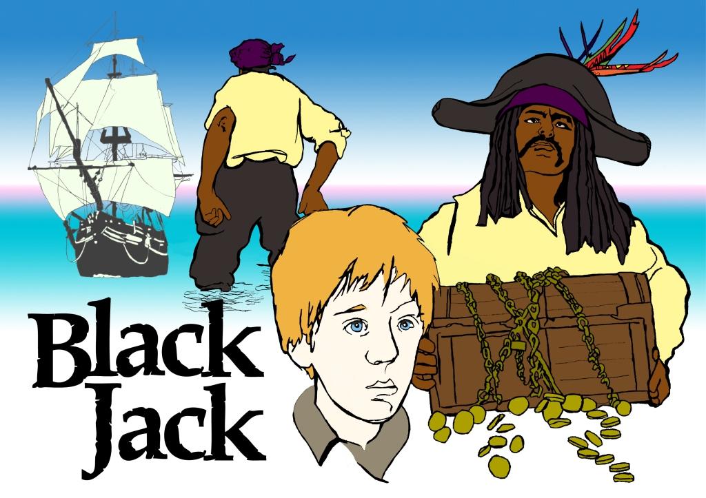 Black Jack Poster | Illustration by Natalie Knowles