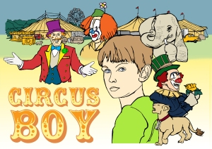 Circus Boy Poster | Illustration by Natalie Knowles
