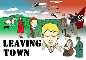 Leaving Town Poster | Illustration by Natalie Knowles