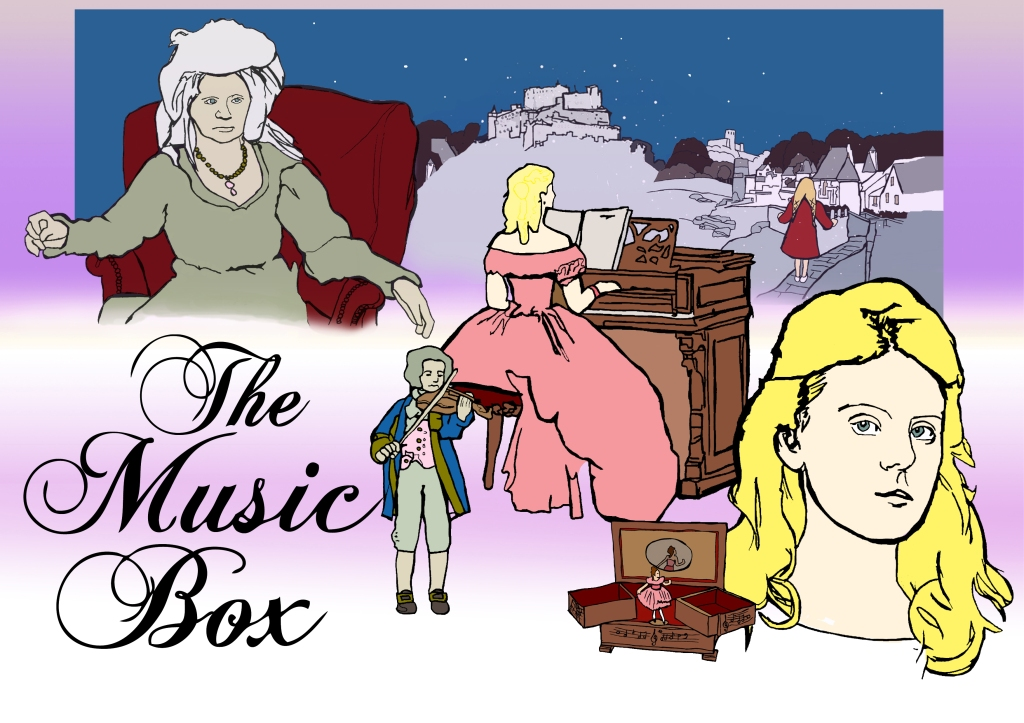 Music Box Poster | Illustration by Natalie Knowles