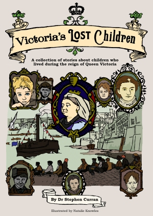 Victoria's Lost Children | Illustration and cover design by Natalie Knowles