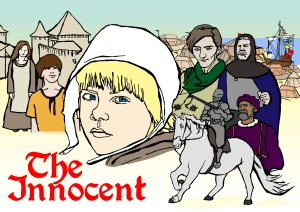 The Innocent Poster | Illustration by Natalie Knowles